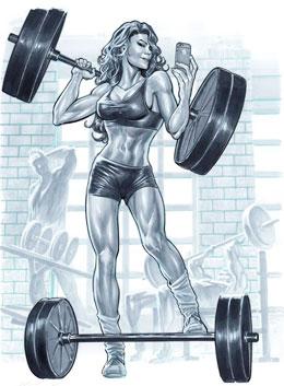 Питание для роста мышцы