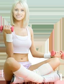 Программа  тренировок для новичков -  девушки