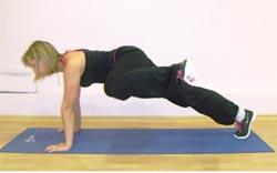 Подъем и  отведение  прямой или согнутой  ноги  в  сторону