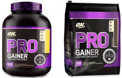Pro Gainer от Optimum Nutrition: описание и состав